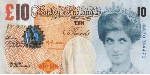 Banksy Di-faced Tenner front | by Numismatic Bibliomania Society