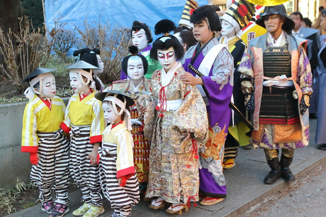 Children in Kabuki Costumes