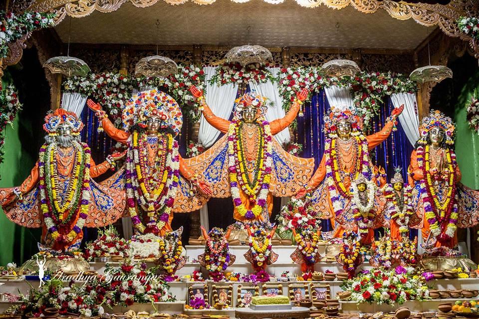 ISKCON Mayapur Deity Darshan 18 Feb 2019 (13) | ISKCON desire tree