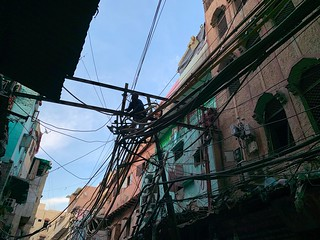 City Life - Cable Art, Old Delhi | by Mayank Austen Soofi