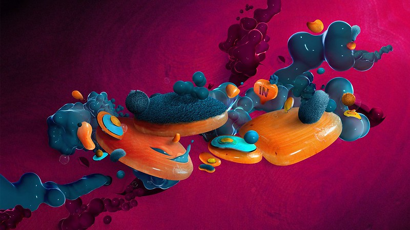 Обои digital art, пузыри, формы, 3d картинки на рабочий стол, фото скачать бесплатно