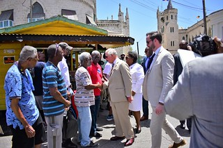 HRH The Prince of Wales visits Nidhe Synagogue (4)   by barbadosgovernmentinformationservice