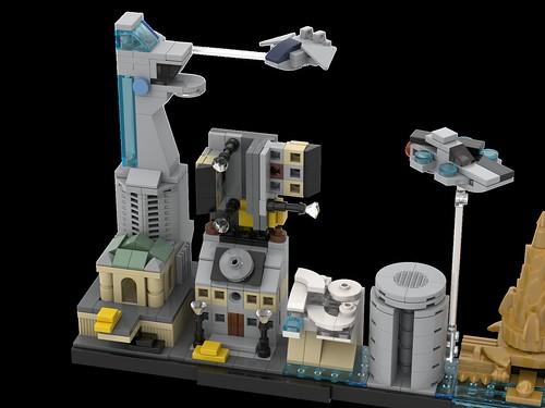 LEGO Avengers Skyline Architecture MOC 08 | by MOMAtteo79