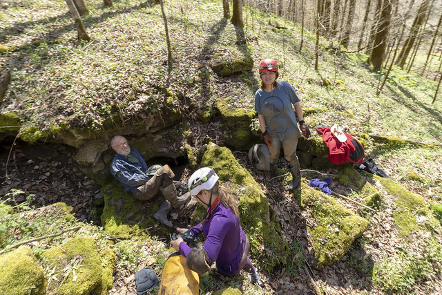 Marion O. Smith, Megan Atkinson, Annabelle Dempsey, karst feature, Jackson County, Tennessee
