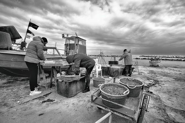 famiglia di pescatori