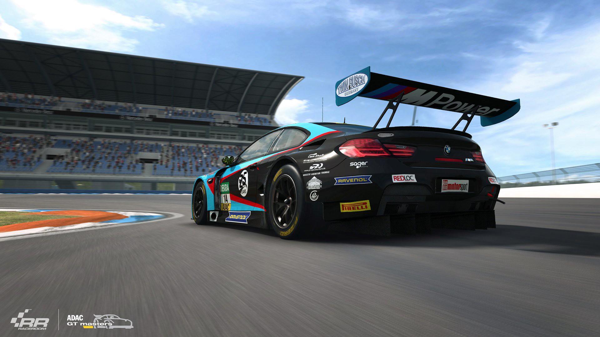 RaceRoom 2018 ADAC GT Update BMW M6 GT3 3