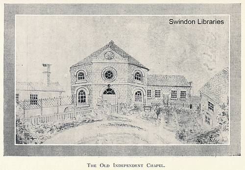 c1804: The Old Independent Chapel in Newport Street, Old Swindon | by Local Studies, Swindon Central Library