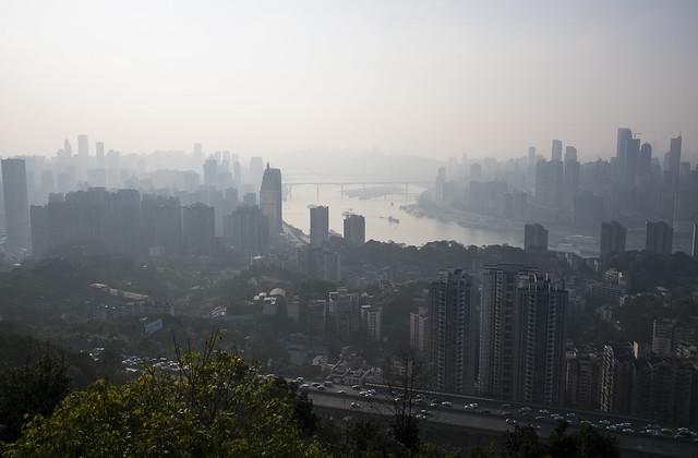View over Chongqing