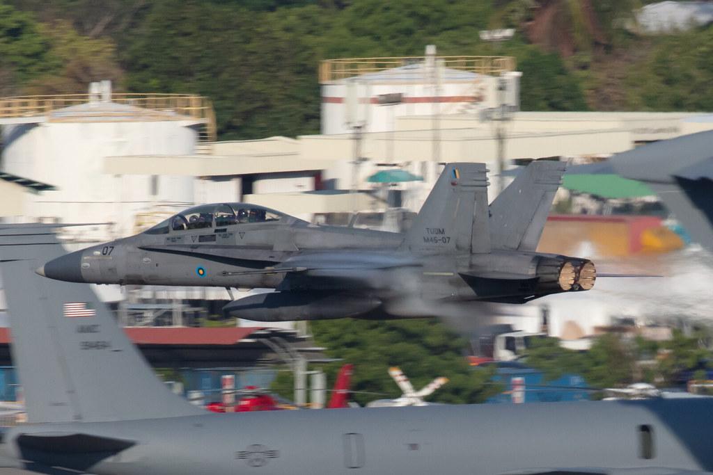 M45-07, McDonnell Douglas F/A-18D Hornet Royal Malaysia Air Force @ Langkawi LGK WMKL