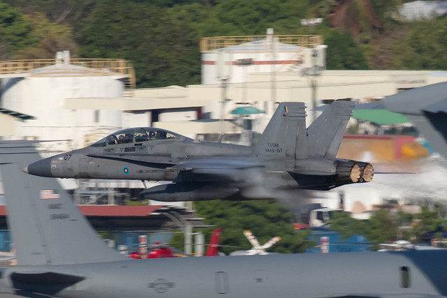 M45-07, McDonnell Douglas F/A-18D Hornet Royal Malaysia Air Force @ Langkawi LGK WMKL
