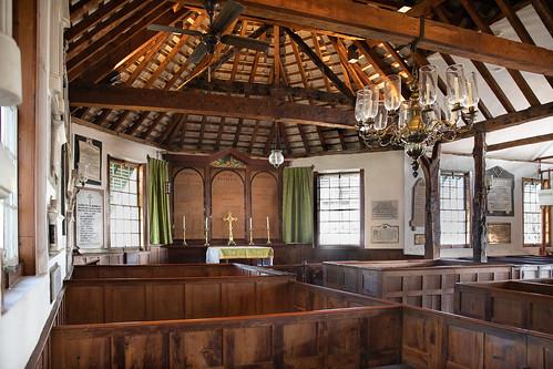 bermuda stgeorge stpeterschurch altar interior