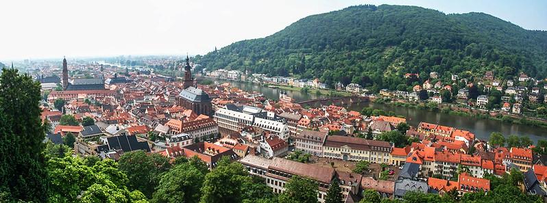 海德堡城堡俯瞰老城區 1