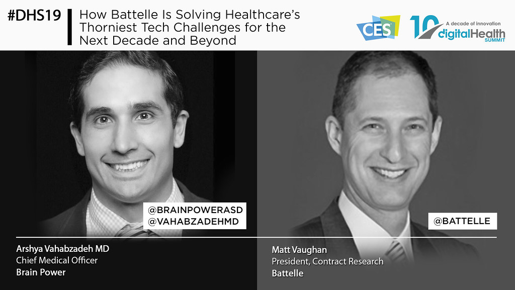 26 - 1030 AM How Battelle Is Solving Healthcares Thorniest Tech Challenges for the Next Decade and Beyond