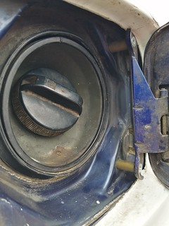 Fuel cap and spacers | by Dan the drifter