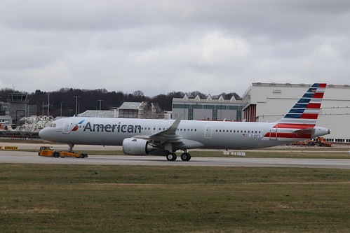 A321nx American Airlines N401AN   by XFW-Spotter
