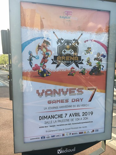 Vanves Games day 2019   by Pimpfdm
