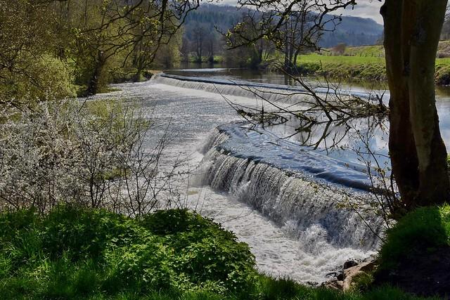 Warleigh Weir near Bath