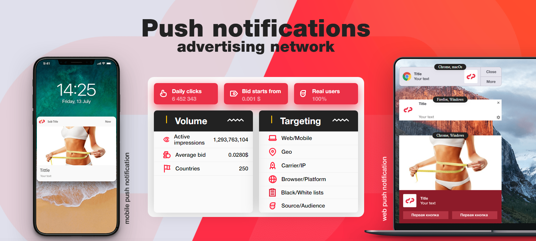 Datspush is an interesting push affiliate program for advertisers and webmasters