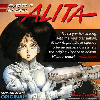 Battle Angel Alita anime | by tiffanyyongwt