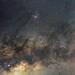 Opiuchus region of the Milky Way