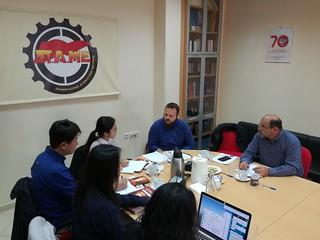 20.3.2019 Συνάντηση ΠΑΜΕ με συνδικαλιστές απο την Κορέα | by PAME-All Workers Militant Front