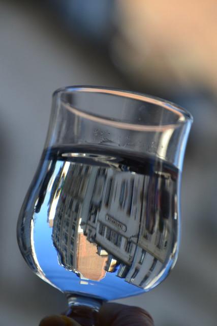 A glass of Paris