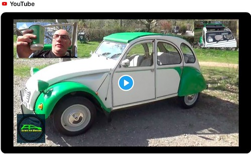 New video is now live! In today's video we take our Citroen 2CV for her first drive of 2019!