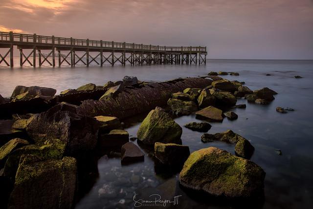 Walnut Beach Pier and Pipe No. 2