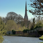 Classic Preston canal scene