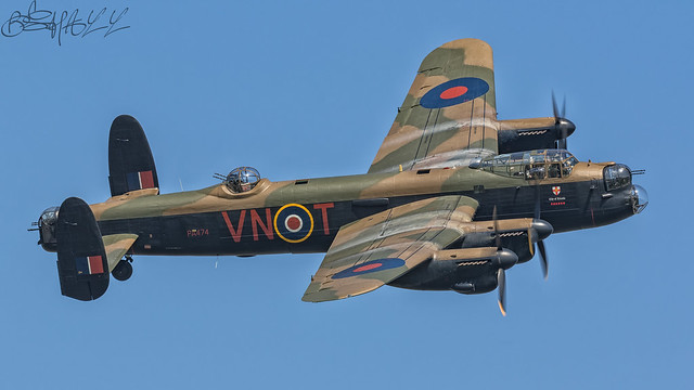 Battle of Britain Memorial Flight Avro Lancaster B.II PA474