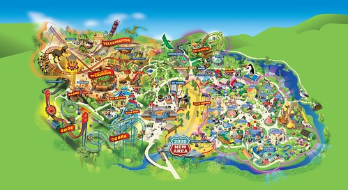 Paultons Park 2019 Park Map | by ThemeParkMedia