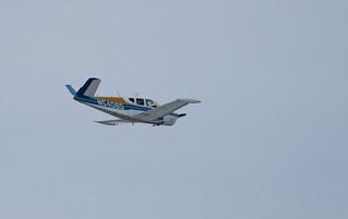 N5408D Beech H35 Small Plane