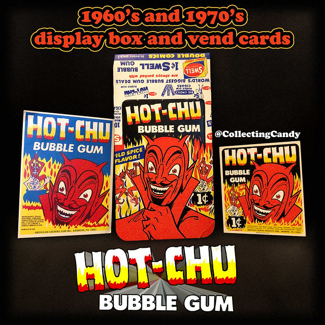 Philadelphia Chewing Gum's - Swell - Hot-Chu - assorted pieces - 1960's and 1970's