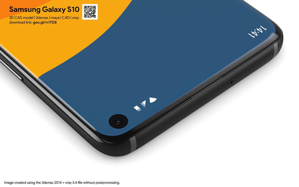 Samsung Galaxy S10 - 3D models set | Highly detailed 3D CAD … | Flickr