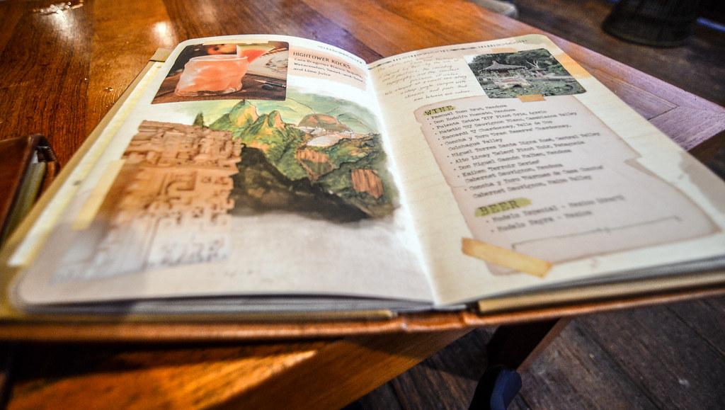Nomad Lounge menu AK