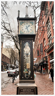 Gastown Steam Clock   by Free 2 Be