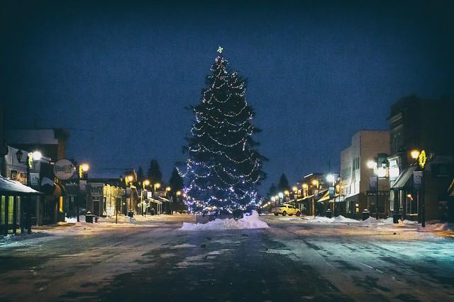 Downtown Park Rapids, Minnesota