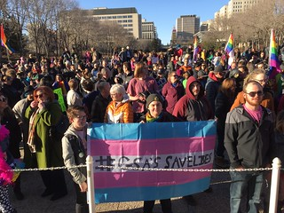 March & Rally to Support LGBTQ2S+ Students & GSAs | by livingsanctuary