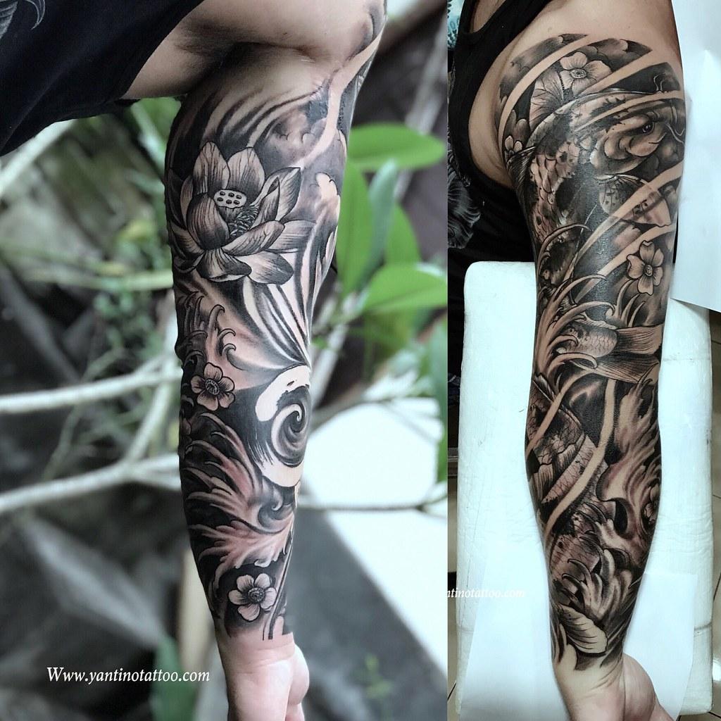 Koitattoo Koi Fish Tattoo Ubud Yan Tino Tattoo Flickr