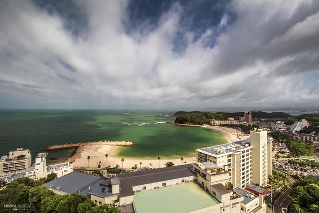 Shirahama Bay from Marriott Hotel - Wakayama Prefecture (Japan)