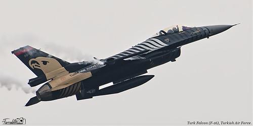 Turk Falcon (F-16) of Turkish Air Force