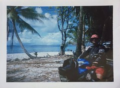 16/3/19 - Fongafale Island, Tuvalu. Polaroids taken with a LandCamera350 in 2019, its 50th year of life