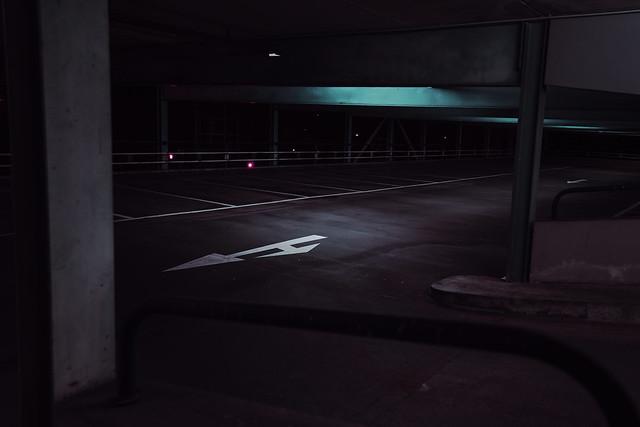 Car park at night 2