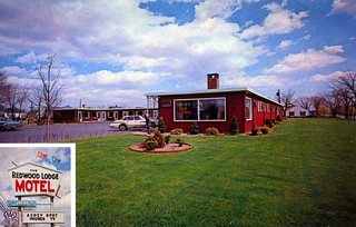 Redwood Lodge Motel Warwick RI | by Edge and corner wear
