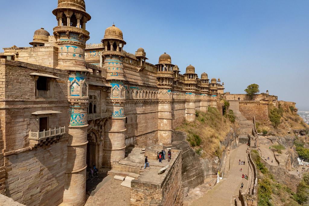 Gwalior Fort-- Gwalior
