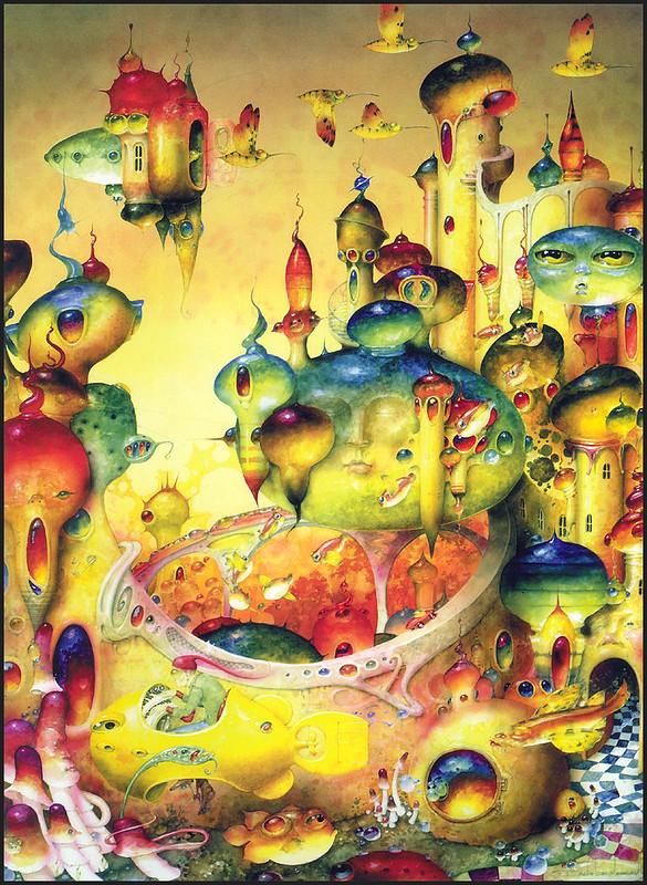 The surrealism art of Daniel Merriam: the impetus of dreams