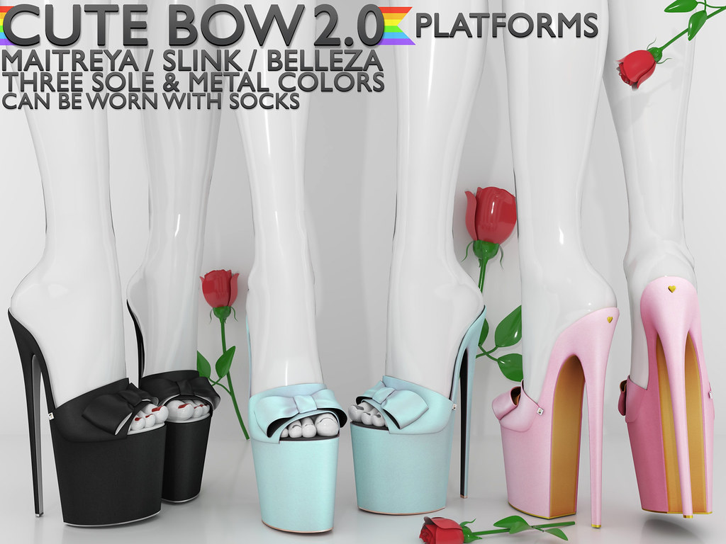 Blah. @ Access / Cute Bow 2.0 Platforms ♥ - TeleportHub.com Live!