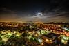 town under the moonlight by AMIR TAJLILI