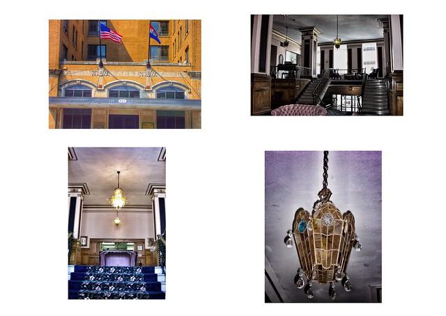 Columbia Missouri  - Cty Hall  AKA Boone Hotel - HIstoric