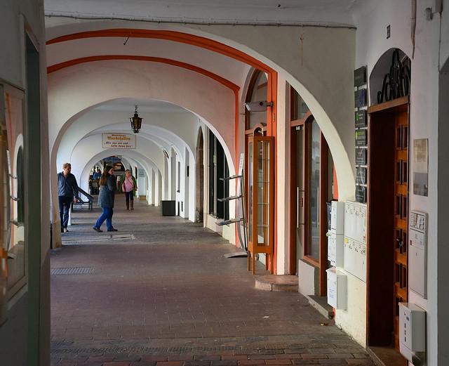 Wasserburg am Inn - Arcades